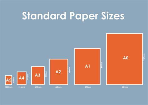 printable paper sizes faq s