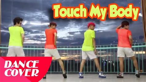 tutorial dance touch my body sistar 씨스타 touch my body dance cover panoma soccer