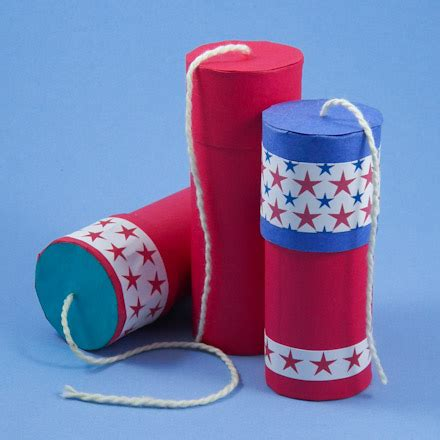 crackers craft 4th of july munchkins and