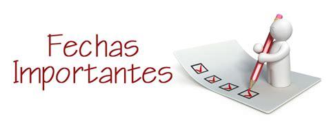 fechas para devolucion de percepciones vd su asesor de seguros fechas importantes