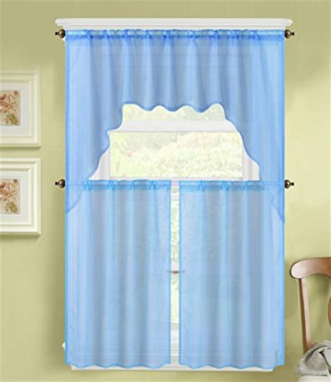 Top 5 Best Kitchen Curtains Valances And Swags Blue For Kitchen Curtains For Sale