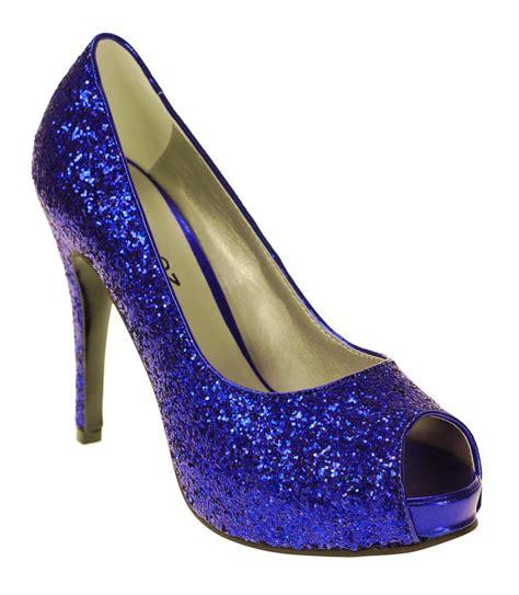 Prewalker Heels Sparkling Blue sparkly heels miss sparkle shoes
