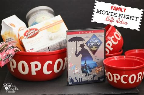 family gift ideas family gift ideas movie night in a box or basket