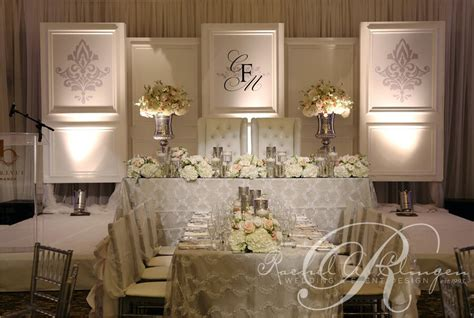 Wedding Anniversary Ideas In Toronto by Monogrammed Wedding Backdrop By A Clingen Wedding