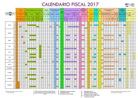 Calendario Empresa Calendario Fiscal 2017 Para Empresas
