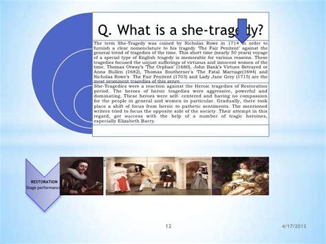 themes in restoration literature on restoration literature