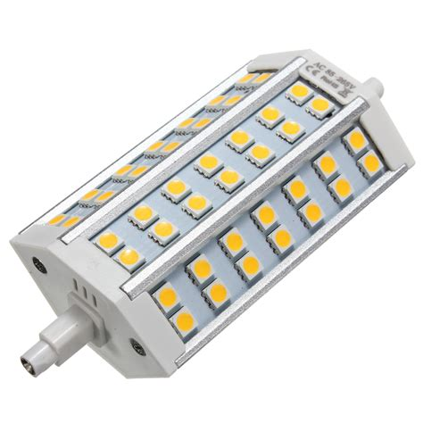 led flood light replacement r7s 15w 42 smd 5050 dimmable bright 1100lm led flood
