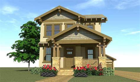 craftsman style narrow lot house plans craftsman style craftsman bungalow for narrow lot 44119td
