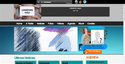 website radio tutorial instalando site administr 225 vel de web radio blog