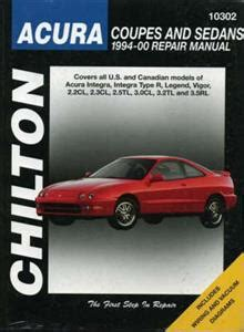 find chilton 10300 repair manual acura coupes sedans 1986 1993 integra legend vigor motorcycle chilton manuals octane books cars motobikes heavy vehicles and aviation