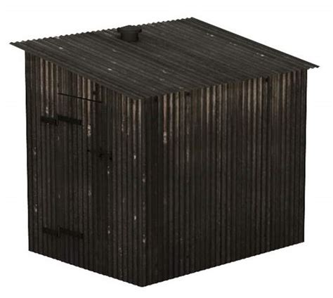 Corrugated Metal Shed ehattons from hattons model railways