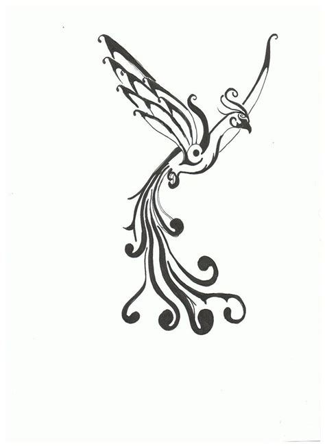 simple phoenix tattoo the world s catalog of ideas