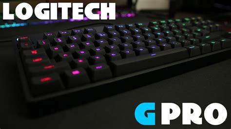 g pro logitech g pro keyboard on review