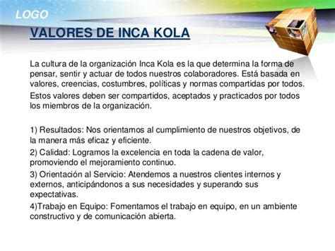 inca kola - Cadena De Valor De Inka Kola
