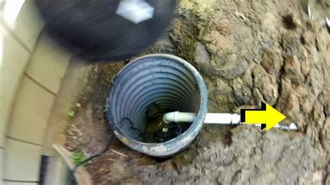 backyard sump pump how to install a sump pump do it yourself project by