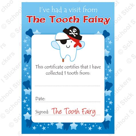 tooth certificate template boy tooth tooth boys certificates tfcboy