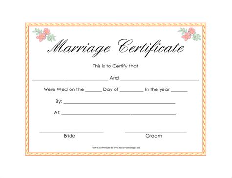sle marriage certificate best resumes