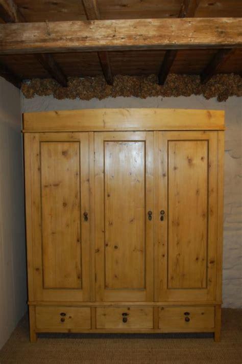 Antique Pine Wardrobe by Antique Pine Armoire Wardrobe 191258