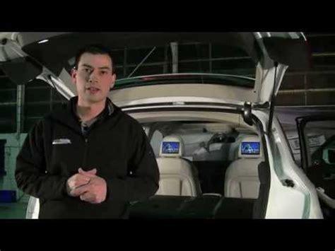 rear seat entertainment preparation audi audi q5 8r rear seat entertainment system demonstration