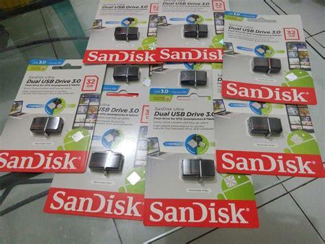 Flashdisk Otg 32gb jual flashdisk otg dual usb sandisk 32 gb garansi resmi 5