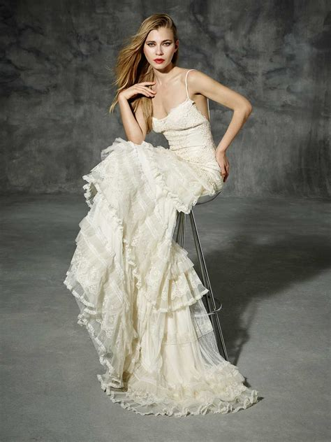 Boho Wedding Dress by Yolancris Boho Wedding Dress