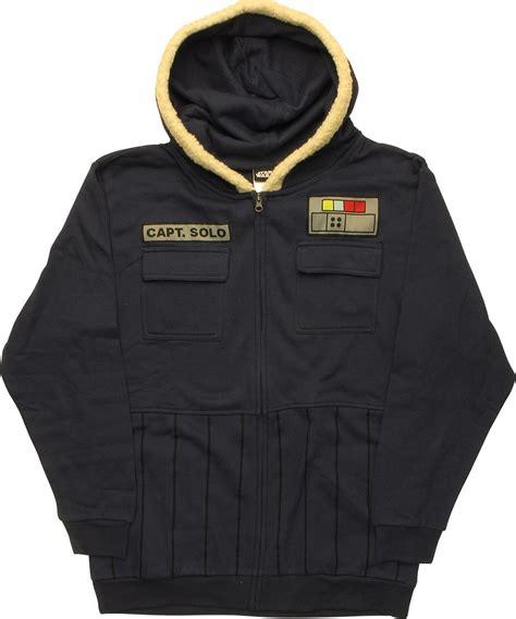 Hoodie Starwars wars han hoth zip hoodie