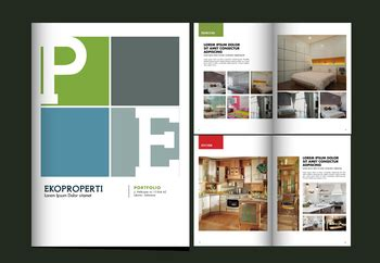 layout majalah fotografi sribu desain lainnya layout buku portfolio ekoproperti
