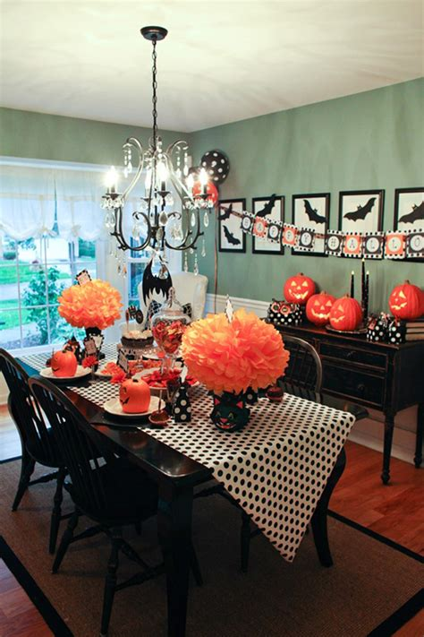 dramatic halloween table decor ideas homemydesign