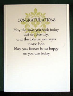Wedding Card Verses For by Wedding Sentiment Would Make A Great Gift In A Frame