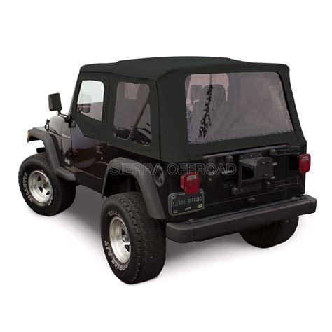 convertible jeep black offroad 1997 2002 jeep tj w doors black