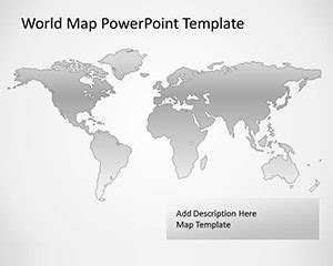 World Map Template For Powerpoint by Maps Archives Free Powerpoint Templates