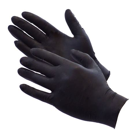 the with black gloves black disposiable barber gloves world class kuts