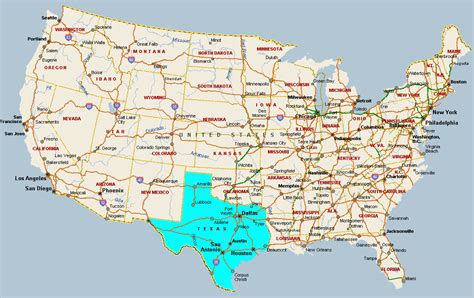 usa map texas state map of texas in usa area pictures texas city map county cities and state pictures