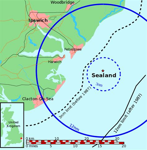 map uk territorial waters file map of sealand with territorial waters svg