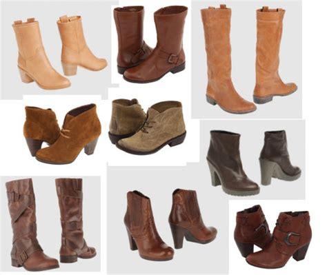 Sepatu Boots Musim Dingin fashion sepatu boot cokelat untuk musim dingin