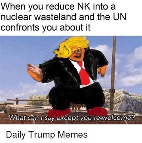 reduce nk   nuclear wasteland