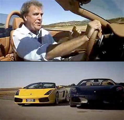 430 top gear f430 vs lamborghini gallardo top gear top gear
