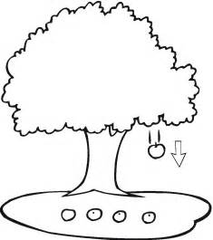 apple tree coloring page free printable apple coloring pages for