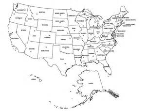 Blank States And Capitals Map by States And Capitals Map Blank For Pinterest