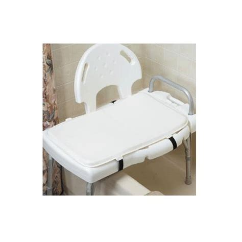 padded cushions for benches the comfort company padded transfer bench cushion bath aids