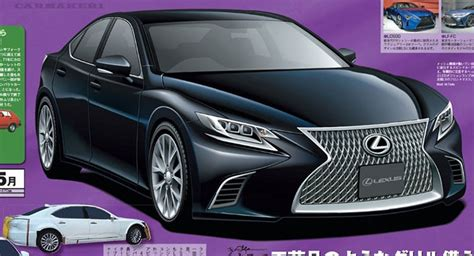 new lexus ls 2017 all new lexus ls luxury sedan said to arrive in early 2017