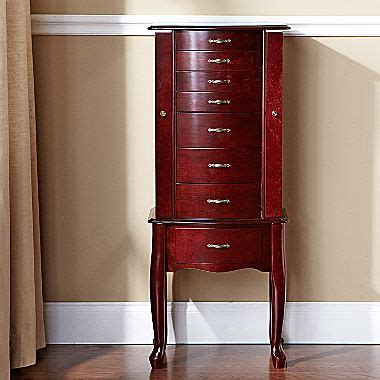 jcpenney jewelry box armoire armoire jewelry cherry jcpenney for the home bedroom