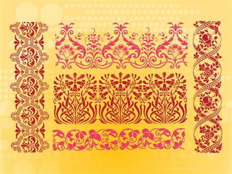 flower border pattern border designs patterns for cards www pixshark com