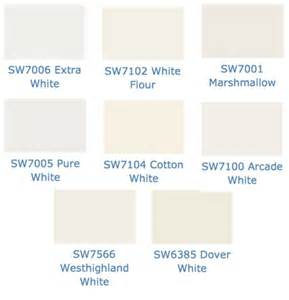Rarely use whites but here are a few that are some