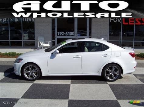 white lexus is 250 interior 2009 starfire white pearl lexus is 250 29342748