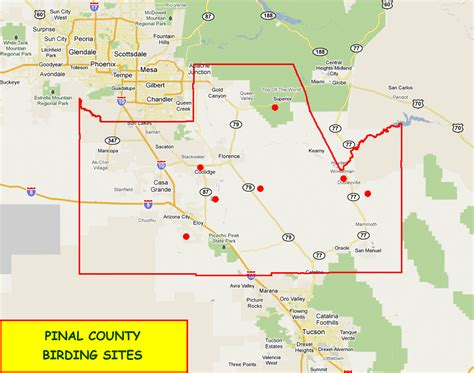 Records Pinal County Pinal County Map My