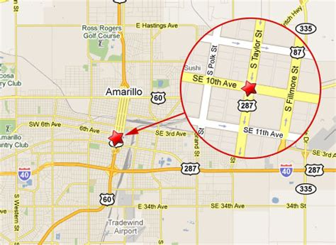 map of texas showing amarillo vehicle runs light hits penske truck in downtown amarillo truck lawyer news