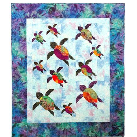 Turtle Quilt by Pin By Quilt Inspiration On Aquarium Sea Quilts