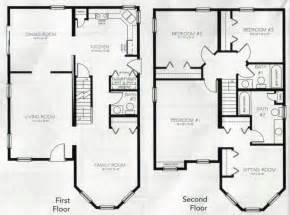 4 Bedroom 2 Story House Plans | House Plans