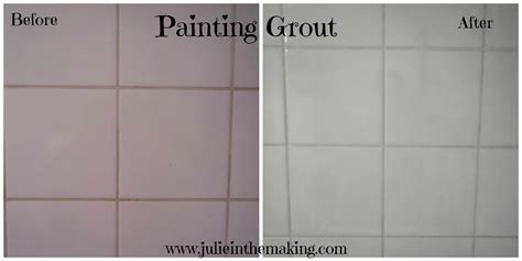 how to paint the grout on your kitchen tiles